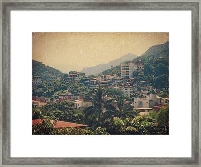It Was Years Ago Framed Print by Laurie Search