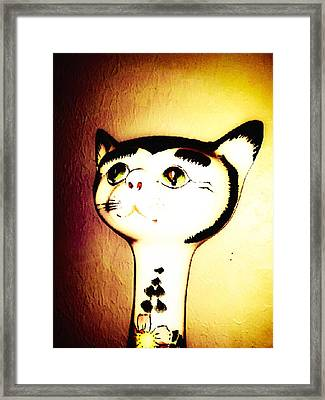 It Wasn't Me Framed Print by Lady Ex