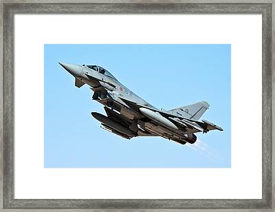 Italian Air Force Eurofighter Typhoon Framed Print
