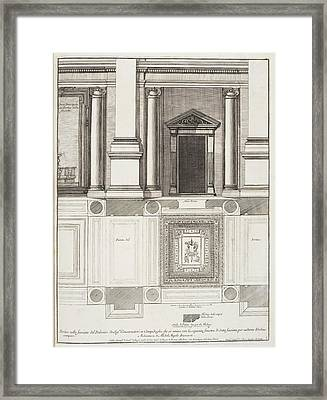 Italian Architecture Framed Print by British Library