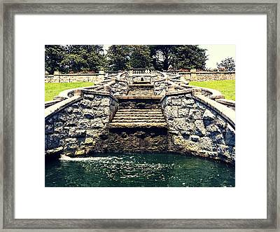 Italian Garden Architect  Framed Print by Kiara Reynolds