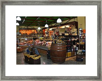 Italian Grocery Framed Print by Dany Lison
