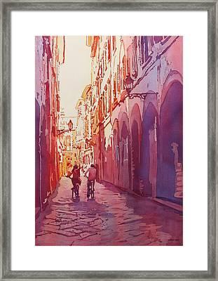 Italian Heat Framed Print by Jenny Armitage