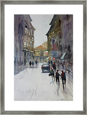 Italian Impressions 1 Framed Print by Ryan Radke