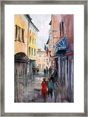 Italian Impressions 3 Framed Print