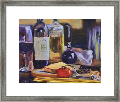 Italian Kitchen Framed Print