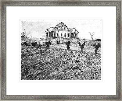 Italian Landscape Framed Print