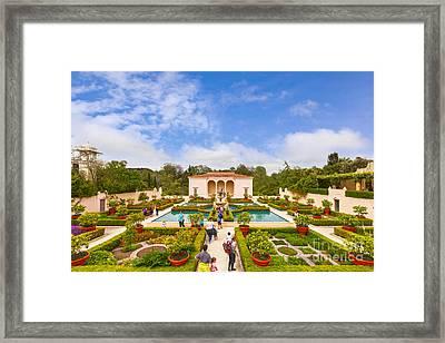 Italian Renaissance Garden Hamilton Gardens New Zealand Framed Print by Colin and Linda McKie