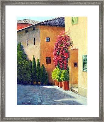 Italian Spring Framed Print