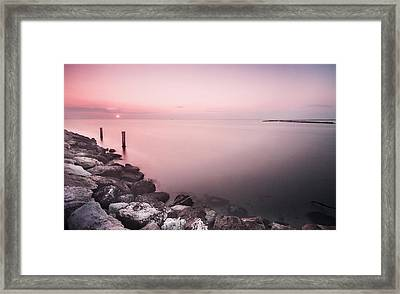 Italian Sunrise Framed Print by Cristian Ghisla