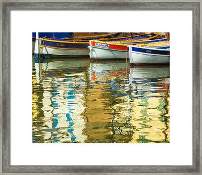 Italian Trio Framed Print