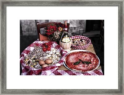 Italiano Framed Print