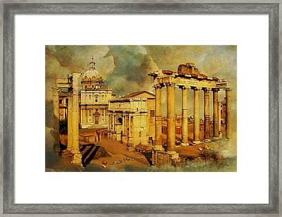 Italy 05 Framed Print by Catf