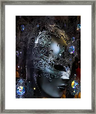 Italy - Behind The Mask Framed Print