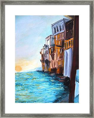 Italy Framed Print by Doris Cohen