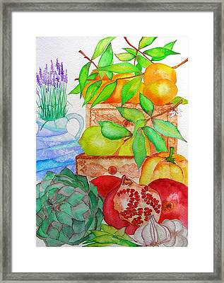 Italy Framed Print by Elena Mahoney
