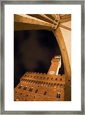 Italy, Florence Palazzo Vecchio Framed Print by Jaynes Gallery