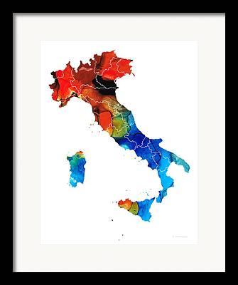 Florence Mixed Media Framed Prints