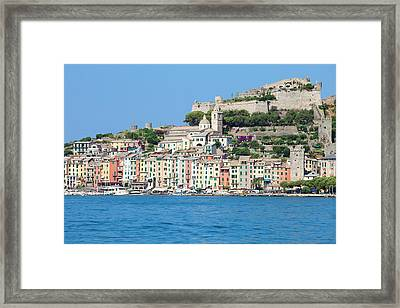Italy, Liguria, La Spezia, Golfo Dei Framed Print by Panoramic Images
