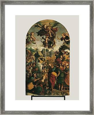 Italy, Marche, Pesaro-urbino, Fano Framed Print by Everett