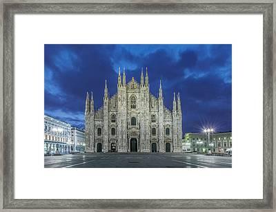 Italy, Milan, Cathedral (duomo Di Milano Framed Print