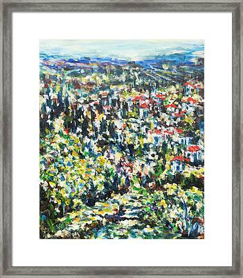 Italy. Noon Framed Print by Helen Kagan