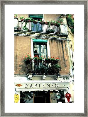 Italy Framed Print by Peggy Stokes