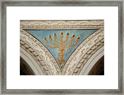 Italy, Ravenna Architectural Detail Framed Print