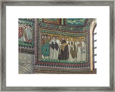 Italy, Ravenna, Basilica Of San Vitale Framed Print by Rob Tilley