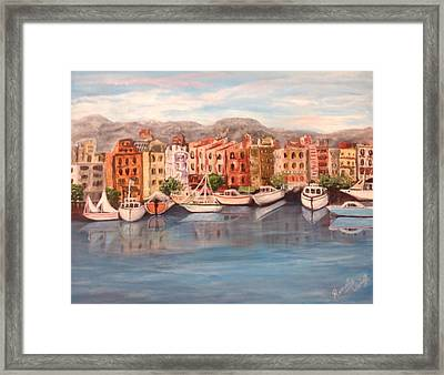 Italy Framed Print by Renate Voigt