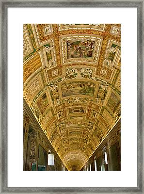 Italy, Rome, Vatican City Framed Print
