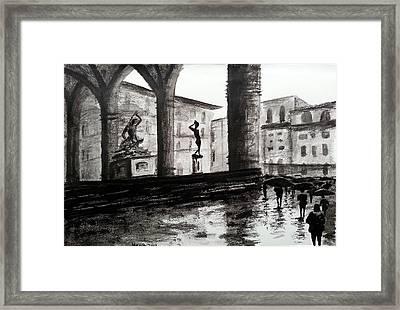 Italy Series 7 Framed Print