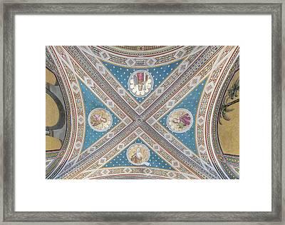 Italy, Tuscany, Chianti, Near Gaiole Framed Print
