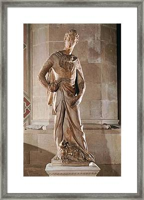 Italy, Tuscany, Florence, Bargello Framed Print by Everett