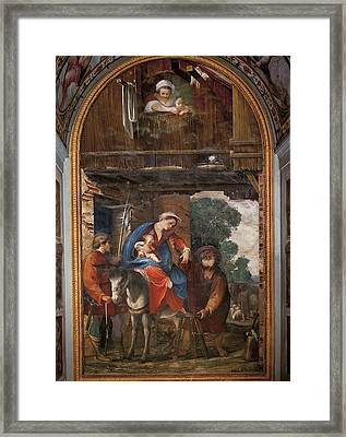 Italy, Tuscany, Florence, Fine Arts Framed Print