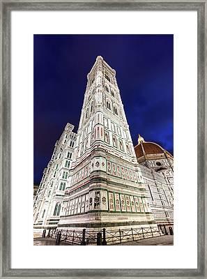 Italy, Tuscany, Florence, Low-angle Framed Print by Henryk Sadura/tetra Images