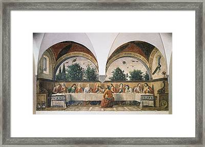 Italy, Tuscany, Florence, Ognissanti Framed Print