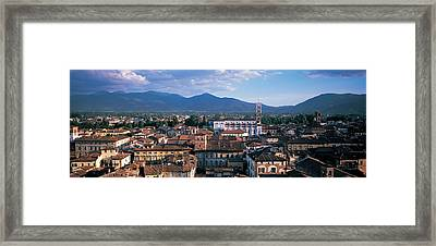 Italy, Tuscany, Lucca Framed Print by Panoramic Images