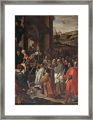 Italy, Umbria, Perugia, Assisi, Santa Framed Print by Everett