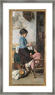 Italy, Veneto, Treviso, Treviso Framed Print by Everett