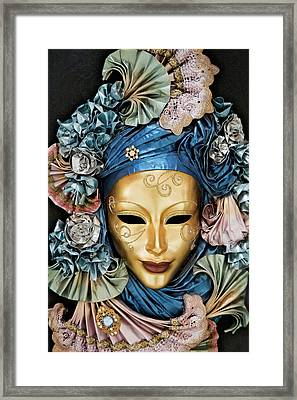 Italy, Venice A Venetian Paper Mache Framed Print by Jaynes Gallery