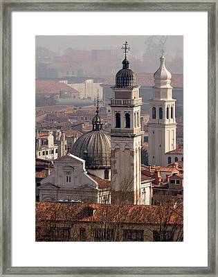 Italy, Venice An Eastward View Framed Print by Jaynes Gallery