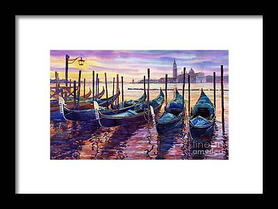 Venice Framed Prints