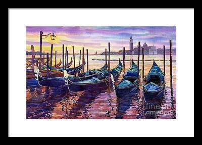 Venice Framed Prints