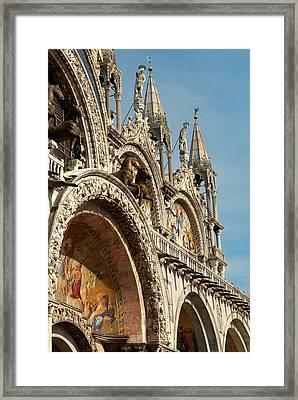 Italy, Venice Saint Mark's Basilica Framed Print