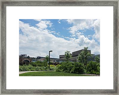Ithaca College Campus Framed Print by Photographic Arts And Design Studio