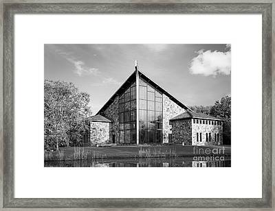 Ithaca College Muller Chapel Framed Print by University Icons