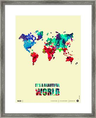 It's A Beautifull World Poster 2 Framed Print