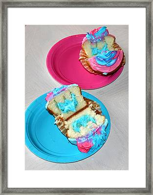 Its A Boy Framed Print by French Toast