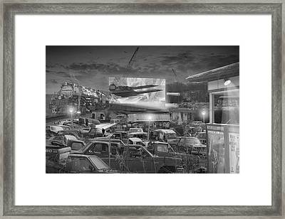 It's A Disposable World  Framed Print by Mike McGlothlen